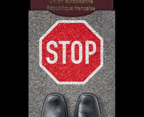 Protège passeport biométrique